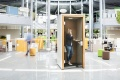 1 m² Ruhe für persönliche Gespräche